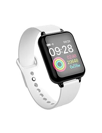 DZKQ Hombres Mujeres Smartwatch Monitor De Ritmo Cardíaco ...