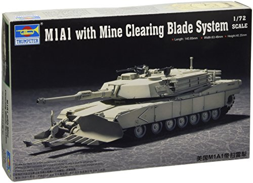 Trumpeter 1/72 US M1A1 Abrams Mine Clearing Tank for sale  Delivered anywhere in USA
