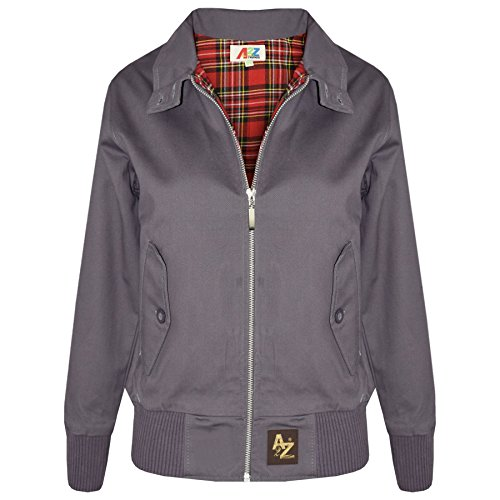Price comparison product image A2Z 4 Kids® Kids Jacket Girls Boys Harrington Bomber Padded Zip Up Biker Jacktes 3-13 Years