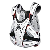 Troy Lee Designs CP 5900 Adult Roost Guard MX Motorcycle Body Armor - White / Medium