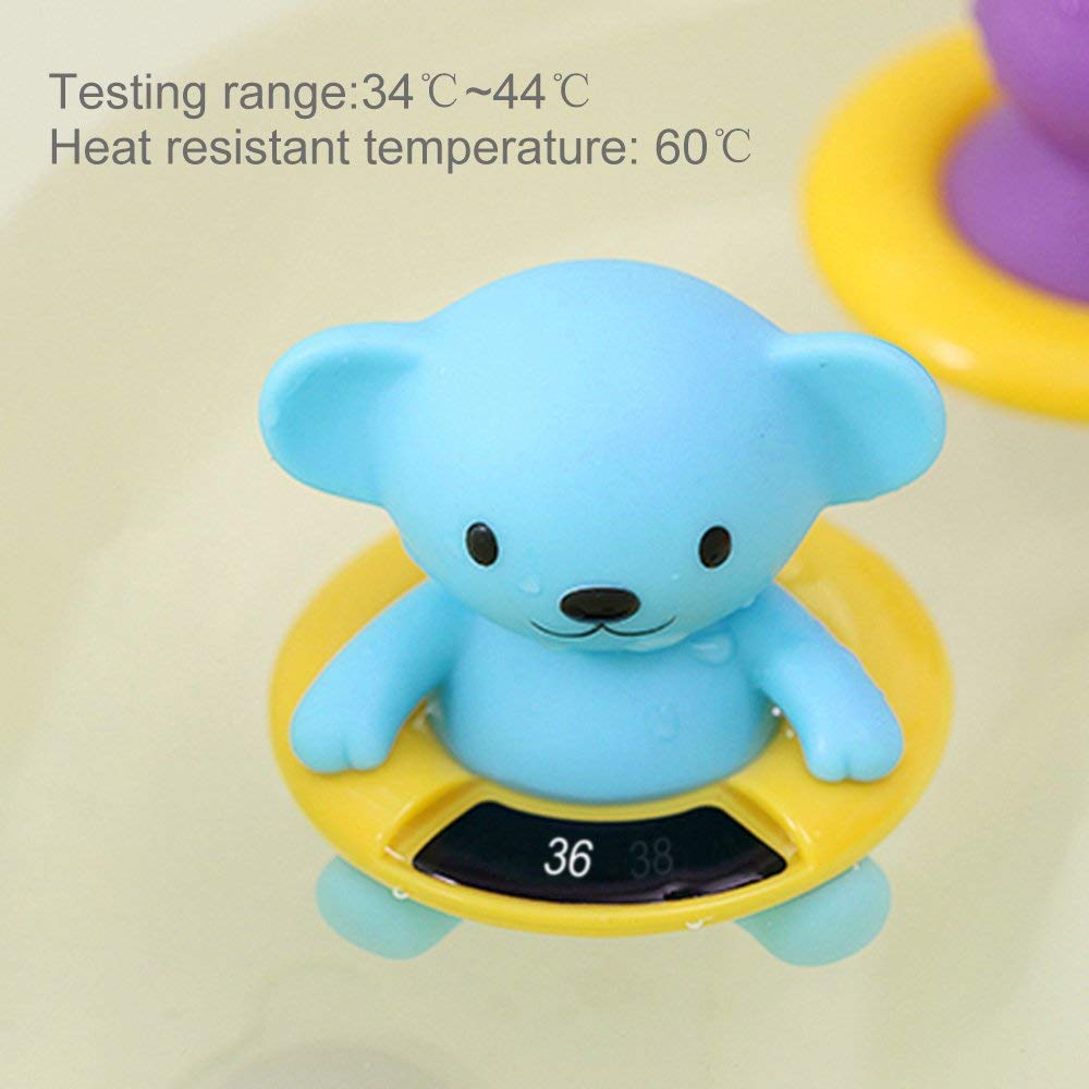 Zhongke Baby Digital Thermom/ètre De Bain Jouet Ours Infant Toddlers Unisexe Gar/çon Fille Kid Nouveau-N/é