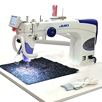 Amazon.com: Juki TL-2200QVP-S Sit Down Long Arm Sewing Machine : small long arm quilting machines - Adamdwight.com