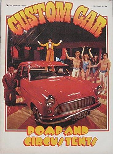 Custom Car Magazine September 09 1979 Amazon Co Uk Colin Gamm