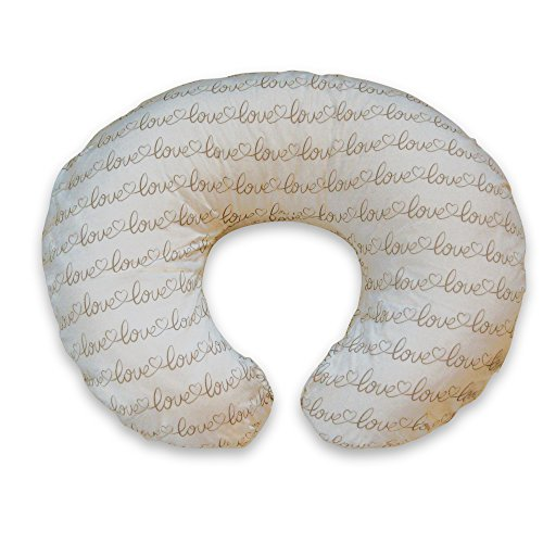 Boppy Nursing Pillow and Positioner, Love Letters/Ivory