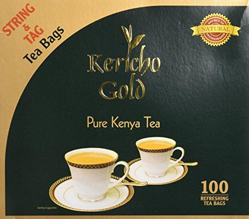 Gold Pure Tea - Kericho Gold Tea bags- Kenyan Black Tea String Bags