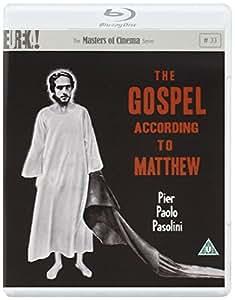The Gospel According to St. Matthew ( Il vangelo secondo Matteo ) (Blu-Ray & DVD Combo) [ NON-USA FORMAT, Blu-Ray, Reg.B Import - United Kingdom ]