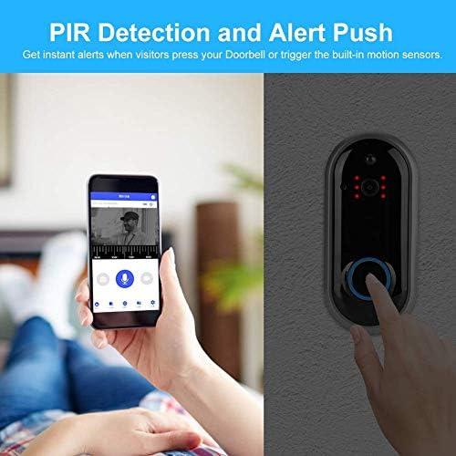 ドアベル、ホームWiFi用のスマートWiFiワイヤレス可視ドアホン