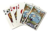 Rocky Mountain National Park, Colorado - Montage (Playing Card Deck - 52 Card Poker Size with Jokers)