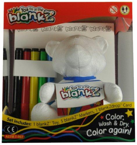 The BlankZ Bear - Bare White