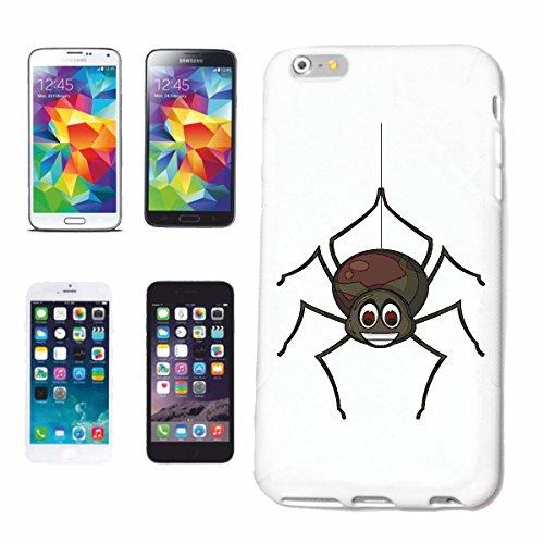 """cas de téléphone iPhone 7+ Plus """"RIRE AT SPIDER SPIDER WEB ANIMAUX SPIDER BIRD SPIDER POISON SPIDER WEBER KNECHT TARANTULA"""" Hard Case Cover Téléphone Covers Smart Cover pour Apple iPhone en blanc"""