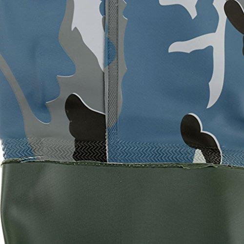 Homyl PVC Thigh Hip Waders Boots Waterproof Hunting Fly Coarse Fishing Muck Waders NaSWWORNq