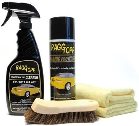 RaggTopp Fabric Convertible Top Cleaner/Protectant Kit