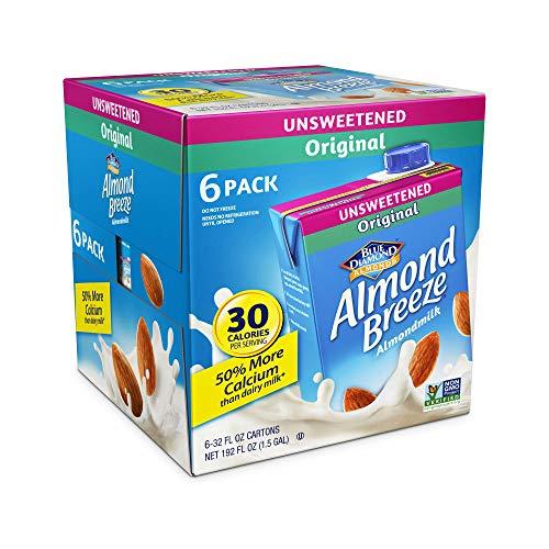 Almond Breeze Expect More Unsweetened Original Almond Milk, 6 pk./32 fl. oz.