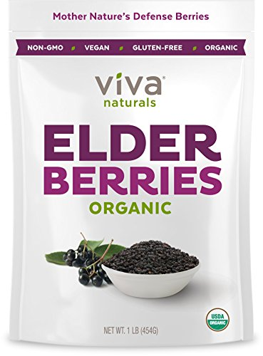 organic elderberries - 2