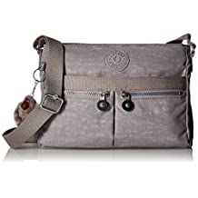 Kipling Angie Messenger Bag, Slate Grey, One Size