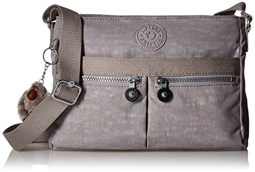 Kipling Angie Solid Crossbody Bag (Fabric Handbags Slate)