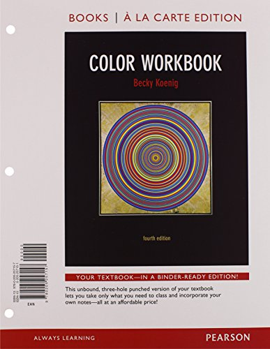 Color Workbook, Books a la Carte Plus MySearchLab with eText -- Access Card Package (4th Edition)