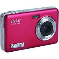 Vivitar VT027-CRANB-KM 12.1MP Digital Camera with 2.7-Inch LCD (Cranberry)