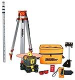 Johnson Level & Tool 99-005K Manual-Leveling Rotary Laser System