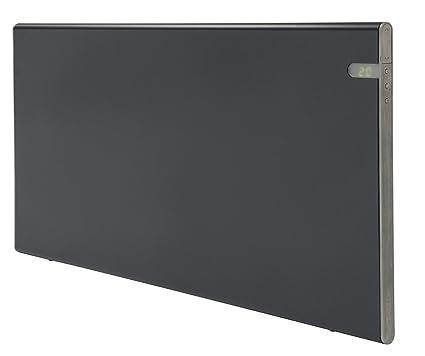 Radiador eléctrico Bendex LUX Negro, 800W, Clase II Aislamiento reforzado IP24 para baños,