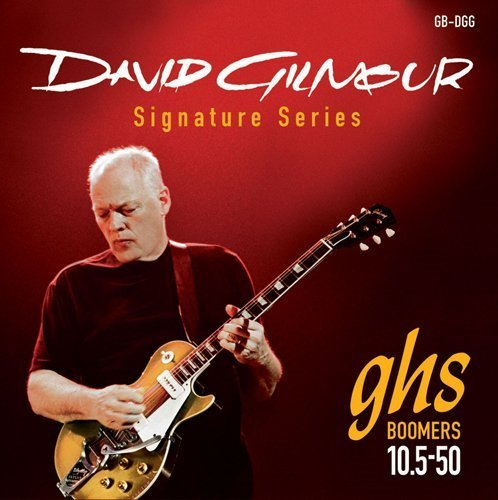 GHS Strings GB-DGG David Gilmour Signature Series, Nickel-Plated Electric Guitar Strings (.010 - String Gibson 8