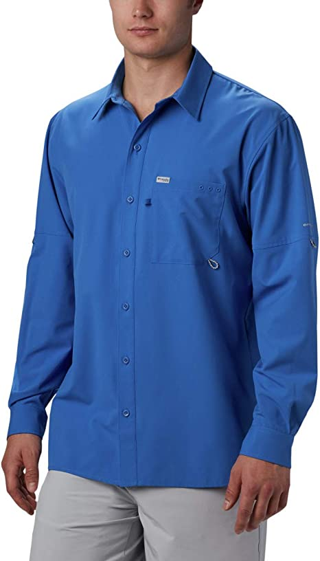 Columbia PFG Zero Rules Woven Long Sleeve - Camisa de Manga Larga. Hombre: Amazon.es: Deportes y aire libre