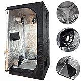 New Indoor Grow Light Box Tent Aluminum lined Bud Dark Room for...