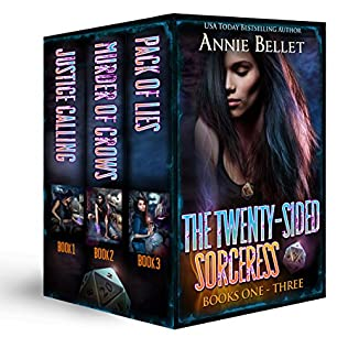 book cover of The Twenty-Sided Sorceress Series