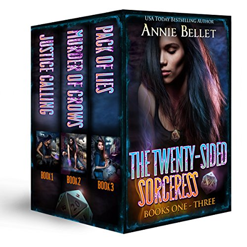 (The Twenty-Sided Sorceress Series, Books 1-3: Justice Calling, Murder of Crows, Pack of Lies)