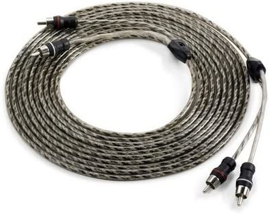 18-Feet JL Audio XD-CLRAIC2-18 2-Channel Twisted-Pair Audio Interconnect Cable with Molded Connectors