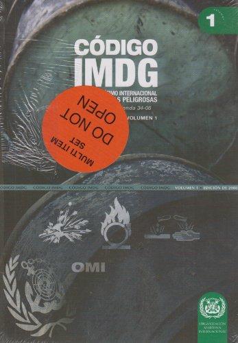Câdigo IMDG: câdigo marâtimo internacional de mercancâas peligrosas, incluida la enmienda 34-08