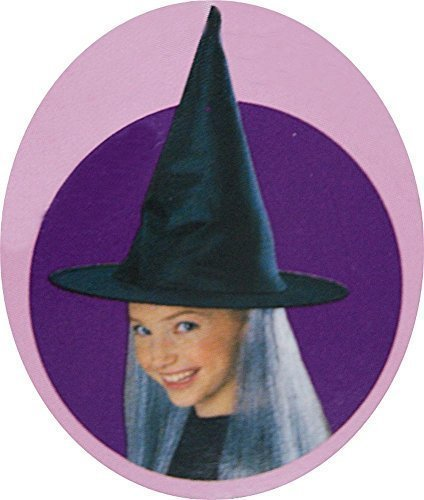 Childrens' Halloween Witch Hat with Gray