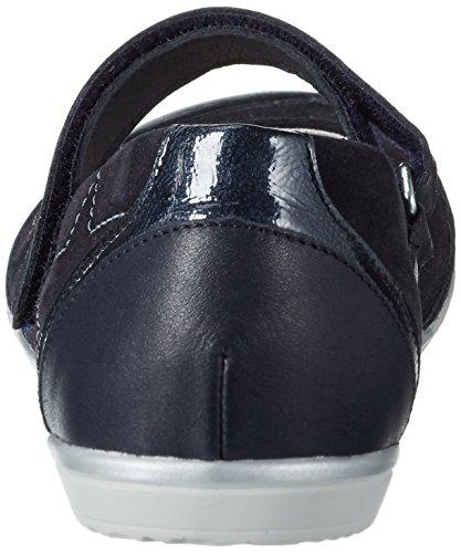 Däumling Damen Amber Geschlossene Ballerinas Blau (Odissea ozean47)