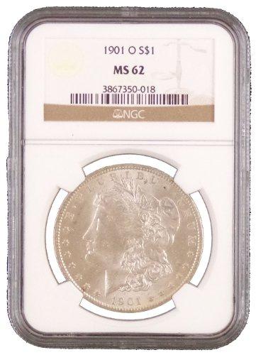 (1901 O Morgan Dollar NGC MS-62)