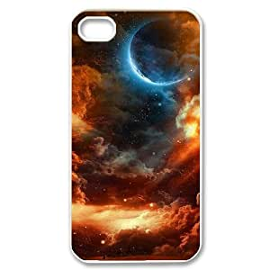 Moon ZLB600023 Unique Design Phone Case for Iphone 4,4S, Iphone 4,4S Case by icecream design