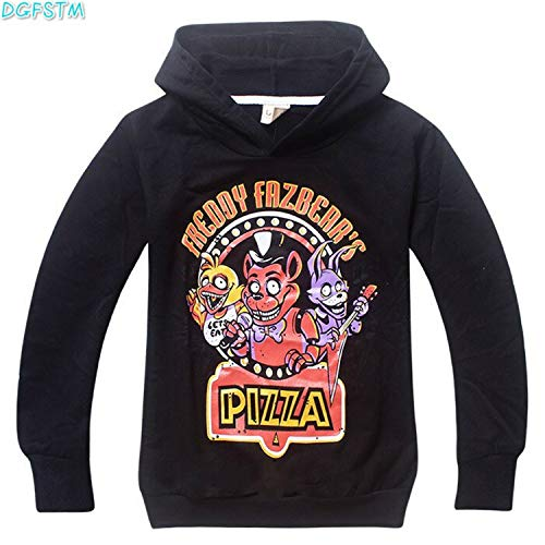 - KoreaFashion FNAF Shirt Cotton Merch Shirts for Kids Youth Birthday Welcome Funny Nightmare Poster