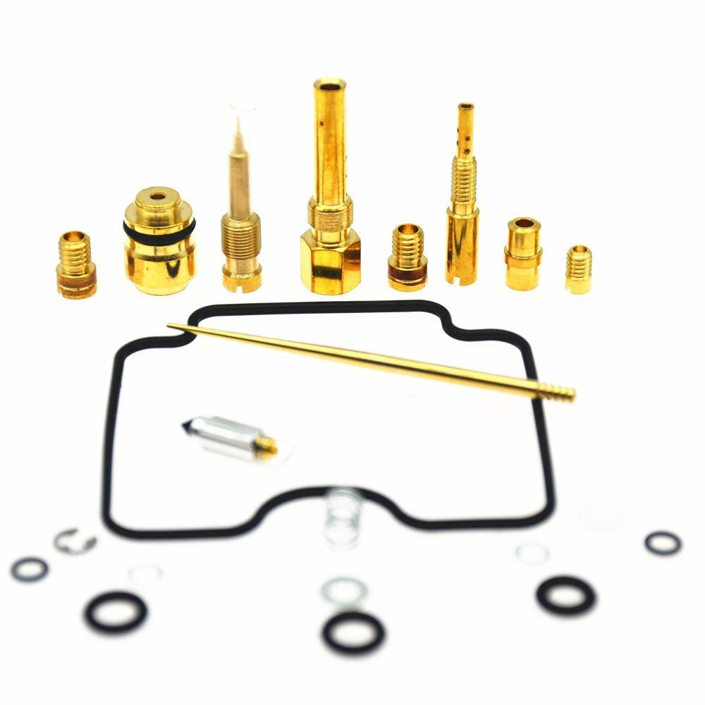 Partman Carburetor Carb Repair Rebuild Kit For Yamaha 2000-2012 YFM400 Big Bear 400 YFM 400 ATV NEW RuiAn haocheng AutoParts co. LTD