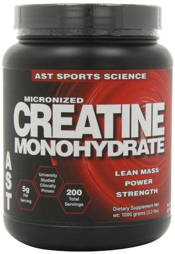 AST Sports Science monohydrate de créatine micronisée, £ 2,2 (1000 g)