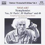 Tintner Memorial Edition Vol. 1 - Mozart Symphonies Nos. 31, 35 & 40