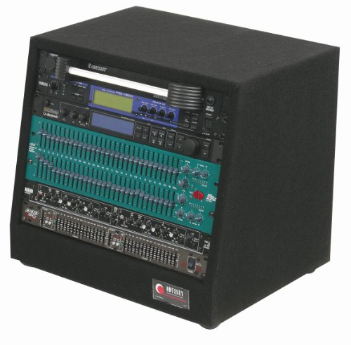 Odyssey CRS08 8 Space Carpeted Studio Rack (Studio Equipment For Music)