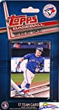Toronto Blue Jays 2017 Topps Baseball EXCLUSIVE Special Limited Edition 17 Card Complete Team Set with Josh Donaldson, Russell Martin & Many More Stars & Rookies! Shipped in Bubble Mailer! WOWZZER!