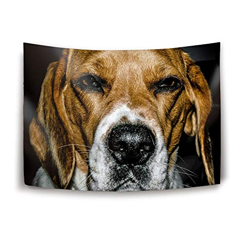 Beagle Tapestry 90 x 60inch Home Decoration Wall Tapestry Hanging - Light-Weight Polyester Fabric Wall Decor ()