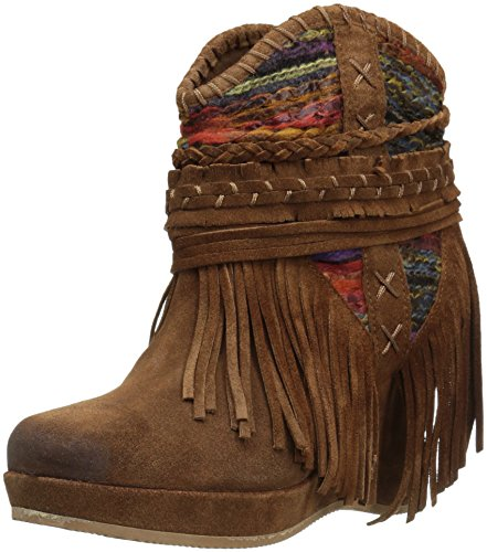 Naughty Monkey Women's Canyon Dream Ankle Bootie Tan