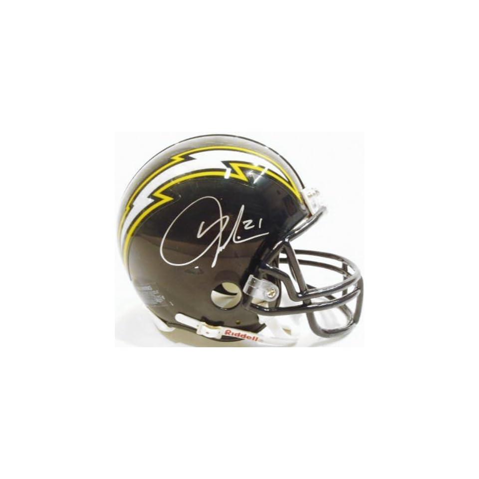 LaDainian Tomlinson San Diego Chargers Autographed Navy Riddell Mini Helmet