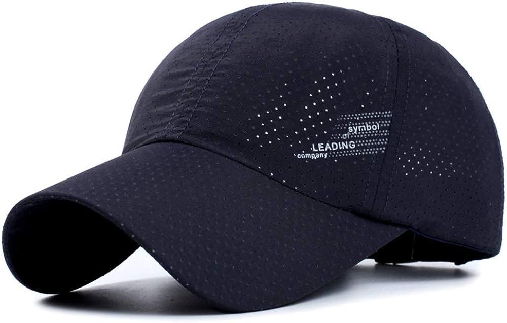 Memoryee Al Aire Libre Gorra de béisbol Estampada Personalizado Ajustable Adecuado para Hombres y Mujeres Sombrero de Secado rápido