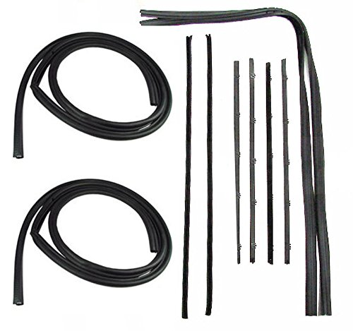Precision Automotive 73-80 Chevy Truck Door Gaskets & Beltline Molding Channel Weatherstrip Seal Kit