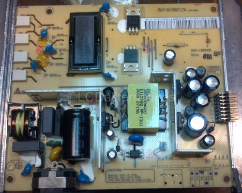 repair-kit-chimei-a190a2-lcd-monitor-capacitors-not-the-entire-board