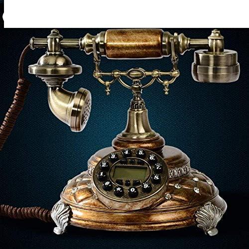 BZM-ZM 無垢材、ヨーロッパスタイル、電話[レトロ]、家庭での使用、[創造]、ケーブルB