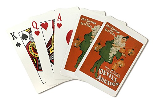 Costume Design National Theatre (Devil's Auction Woman in Costume Theatre Poster #4 (Playing Card Deck - 52 Card Poker Size with Jokers))