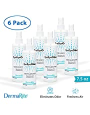 ByeBye Odor Eliminator Spray, 6 Pack - Fabric and Air Freshener - Deodorizes Pet Urine and Feces, Hospital and Ostomy Rooms, and More - Nontoxic - Neutralizes and Eliminates Bad Smells - 7.5 oz.